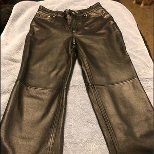 Tommy Hilfiger Leather Pants